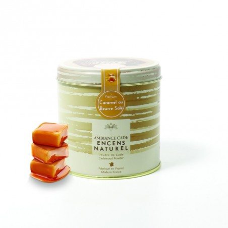 Tin of Cade wood powder - Caramel Salted butter