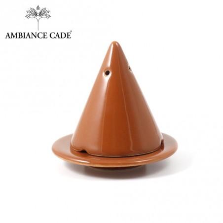LAMPE MERLIN® - Miel : Diffuseur d'encens de poudre de Cade naturelle.