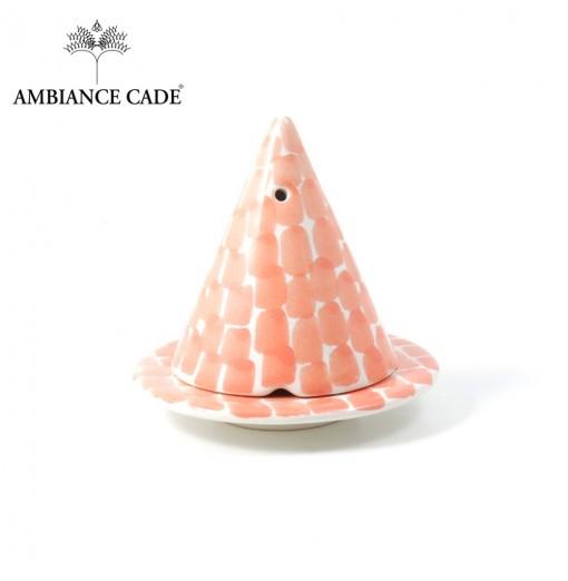 LAMPE MERLIN® - Pêche : Diffuseur d'encens de poudre de Cade naturelle.