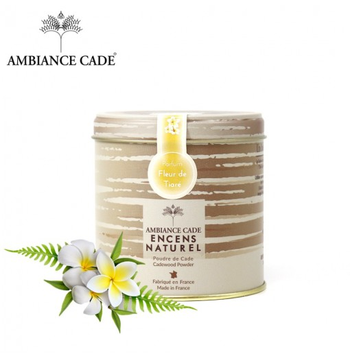 Encens Naturel au Bois de Cade Parfum Fleur de Tiaré