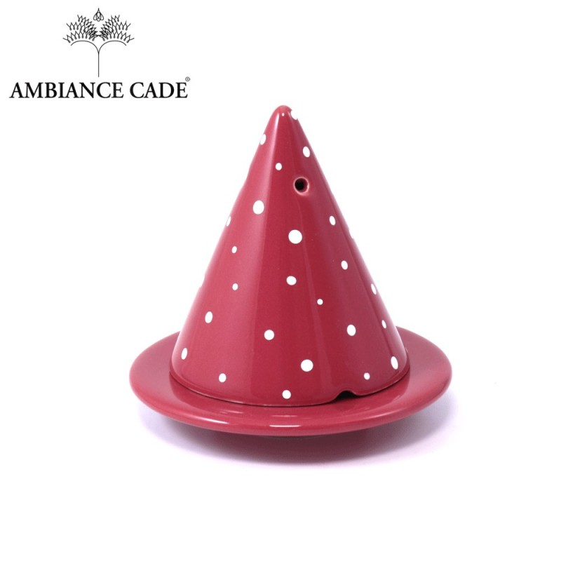 Merlin lamp Red with big white spot