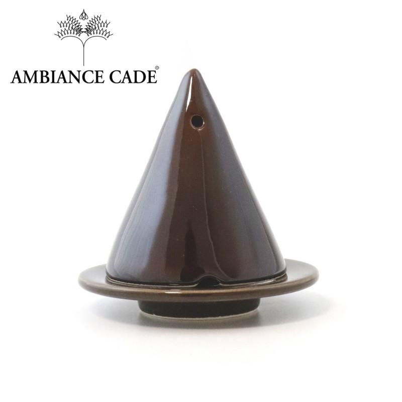 Lampe Merlin chocolat