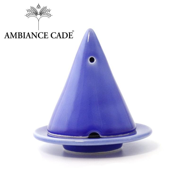 lampe merlin bleu lavande diffuseur d 39 encens de bois de cade. Black Bedroom Furniture Sets. Home Design Ideas