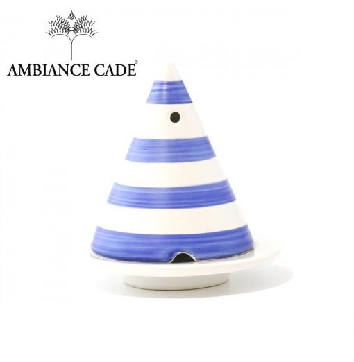 Lampe Merlin rayures bleues