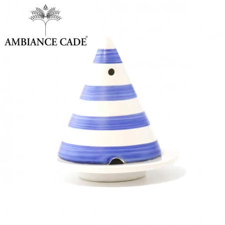 "Merlin lamp ""blue stripes"""