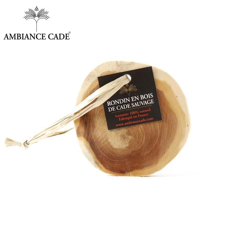 rondin en bois de cade antimites naturels ambiance cade. Black Bedroom Furniture Sets. Home Design Ideas