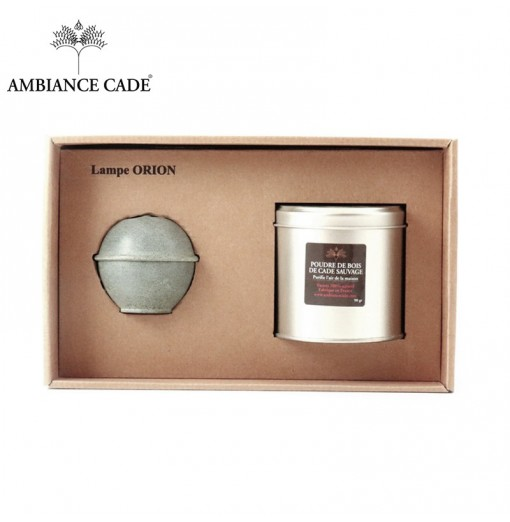 Coffret lampe orion grise