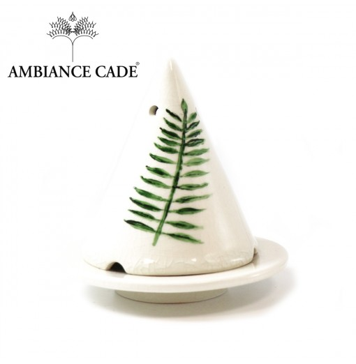 Lampe Merlin - Blanche / Palmier