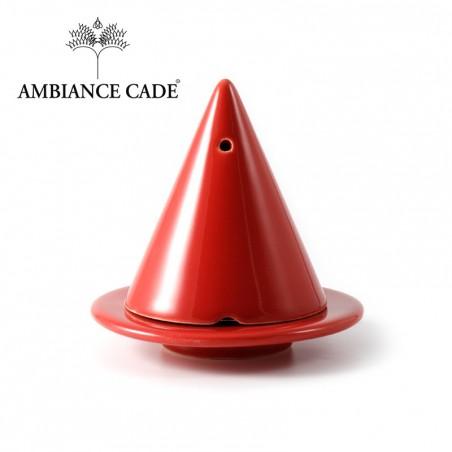 LAMPE MERLIN® - Framboise : Diffuseur d'encens de poudre de Cade naturelle.
