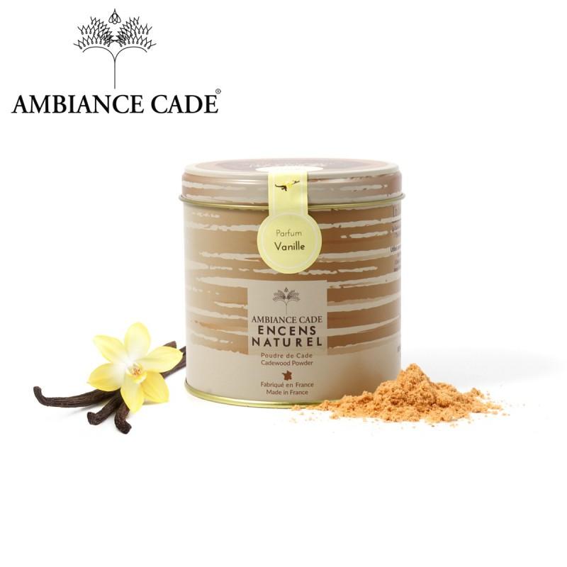 Boite poudre de Cade + vanille