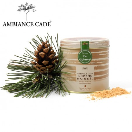 Cade wood powder - fragrance pine