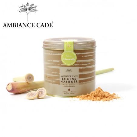 Cade wood powder - fragrance lemon grass