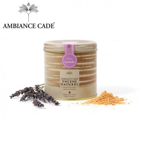 Cade wood powder - fragrance Lavender