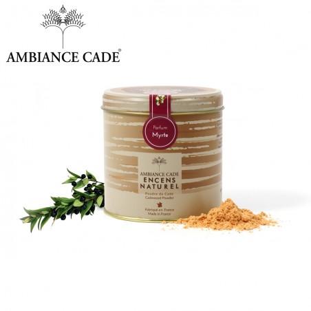 Cade wood powder - fragrance Myrtle