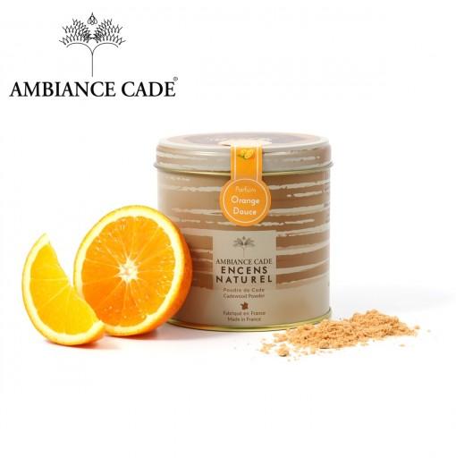 Boite poudre de cade + orange douce