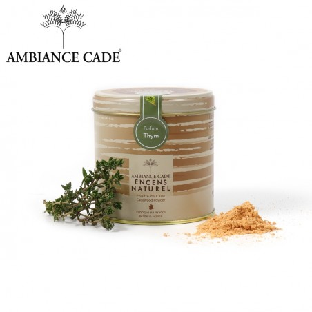 Cade wood powder - fragrance Thyme