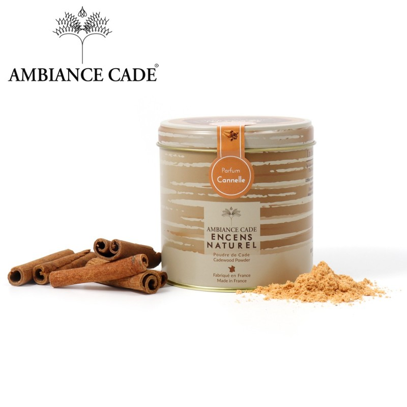 encens naturel au bois de cade parfum cannelle fabriqu en. Black Bedroom Furniture Sets. Home Design Ideas