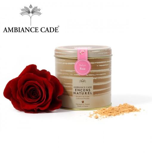 Encens Naturel au Bois de Cade Parfum Rose