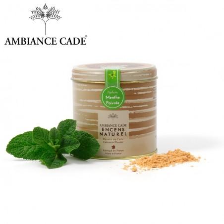 Cade wood powder - fragrance Peppermint
